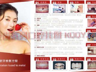 爱齿口腔挂图玫红系列——烤瓷牙制作过程