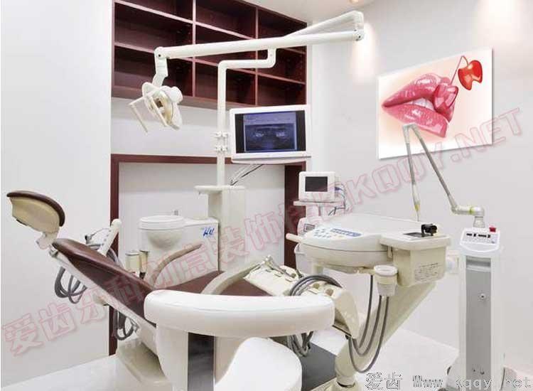 红唇 爱齿创意牙科装饰挂图宣传画 沙发背景墙 候诊区精美图片