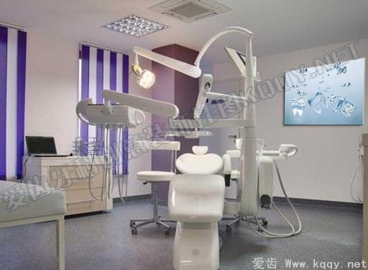 冰块 爱齿创意牙科装饰挂图宣传画 沙发背景墙 候诊区精美图片