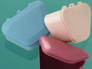 爱齿伴侣梯形牙盒 假牙盒 义齿盒